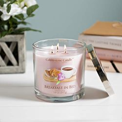Breakfast in Bed Scented Jar Candle | Home Decor, Soy Wax Blend with Triple Wick | 30-50 Hour Bu ...