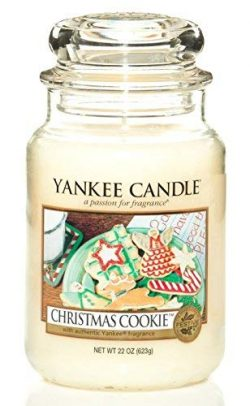 Christmas Cookie Large Jar Candle,Fresh Scent