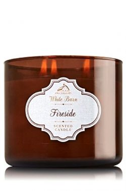 Bath & Body Works White Barn 3-Wick Candle in Fireside