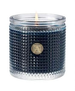 Aromatique Smell of Winter Textured Glass Scented Jar Candle