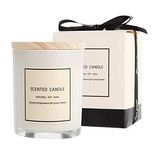 Gifts for Women Scented Candles 100% Pure Natural Soybean Wax with Strongly Fragrance Essential  ...