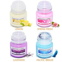soyyla Candle Sets Cup Jar Candles, Natural Scented Soy Candles Gift Set for Women and Man (1-Pr ...